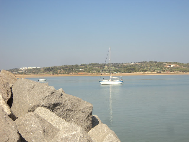 Outer anchorage in Alvor