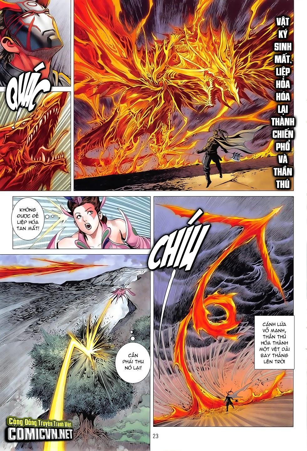 Chiến Phổ chapter 7: giết mi không chỉ mình ta trang 23