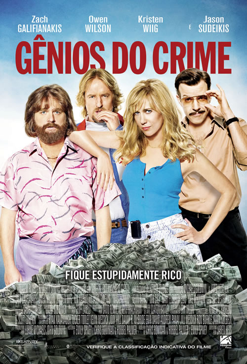 Gênios do Crime Torrent – BluRay 720p e 1080p Dual Áudio (2017)