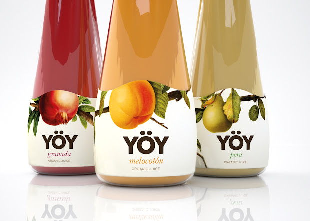 Yoy Organic Juice Student Project Packaging Of World - Creative Package Design