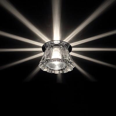 Натяжные потолки Кропоткин - светильники и люстры