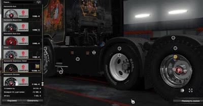 Ban off-road dan winter Mod Pack V2.0