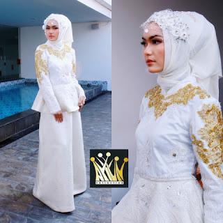 cara hijab pengantin
