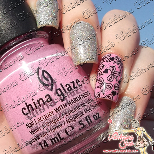 Lua Fina Flor + Dance Baby China Glaze + Patty Películas de Unhas