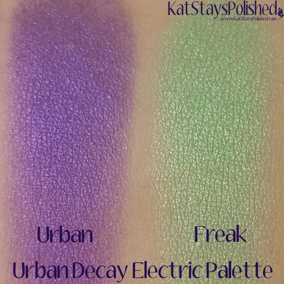 Urban Decay Electric Palette - Urban and Freak | Kat Stays Polished