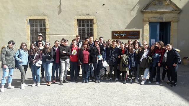 Πρέβεζα: Εκπαιδευτική επίσκεψη του 4ου Γυμνασίου Πρέβεζας στο Sarlat της Γαλλίας