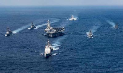 China has agreed to 'take action on North Korea', as U.S navy strike group sails to Korean peninsula