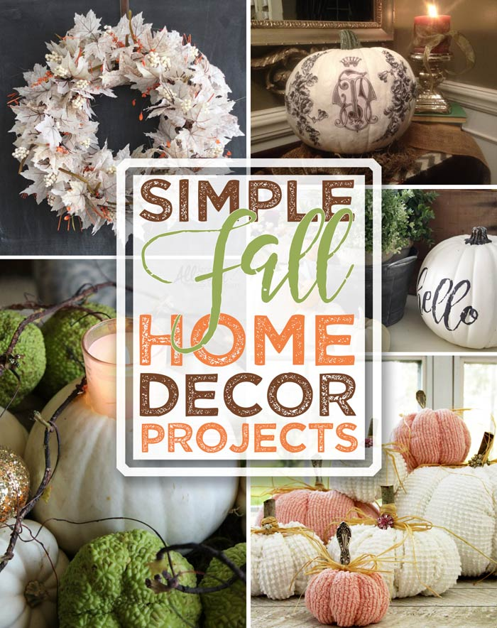 Fall Decor Projects