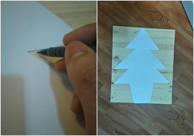 Como hacer un arbol de navidad DIY