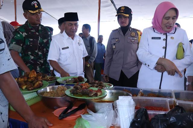 Pemkab Muba Buka Pasar Bedug di Hari Pertama Ramadhan