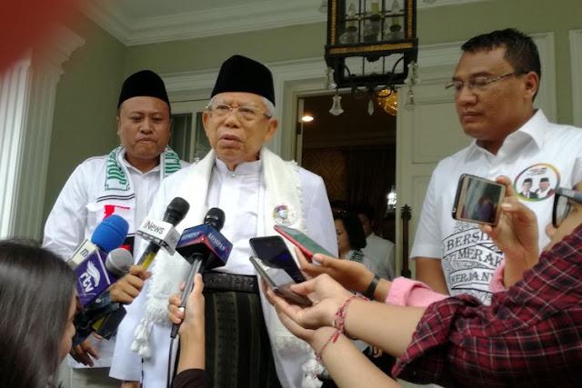 Kontroversi Surat MUI Sorong, Ma'ruf Amin Diminta Mundur dari Cawapres
