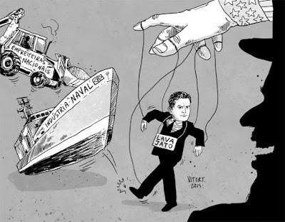 Resultado de imagem para Temer, Moro e FHC, aliados dos EUA, na rota do Brasil de volta à colônia