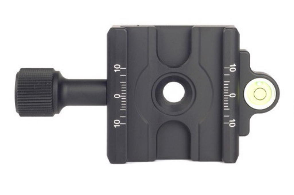 Sunwayfoto DDC-50L QR Clamp top view