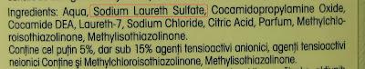 Ingrediente detergent universal
