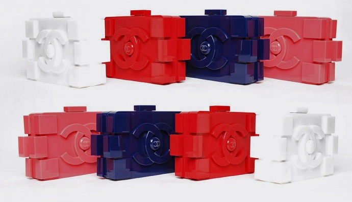 Chanel Lego clutch | The White Pillow