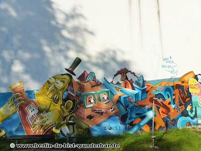 street art berlin 13 berlin du bist wunderbar unbekannte orte street art urbex. Black Bedroom Furniture Sets. Home Design Ideas