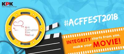 Lomba Film Pendek Nasional ACFFest 2018 oleh KPK