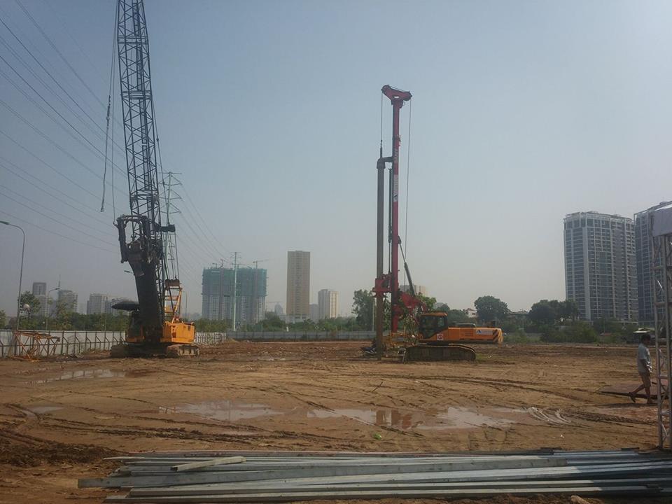 Tiến độ thi công dự án chung cư Roman Plaza Lê Văn Lương