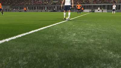 PES 2018 HD 3D Grass Mod v2 by DrDoooMuk