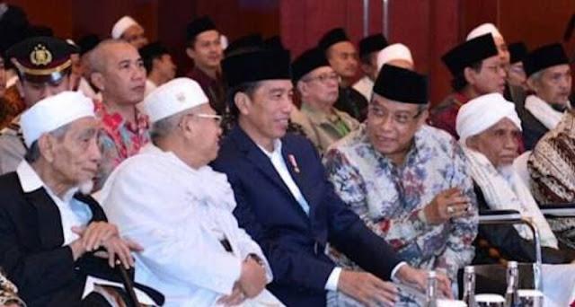 Dituduh Tak Pro Islam, Jokowi: Yang Menetapkan Hari Santri Siapa?