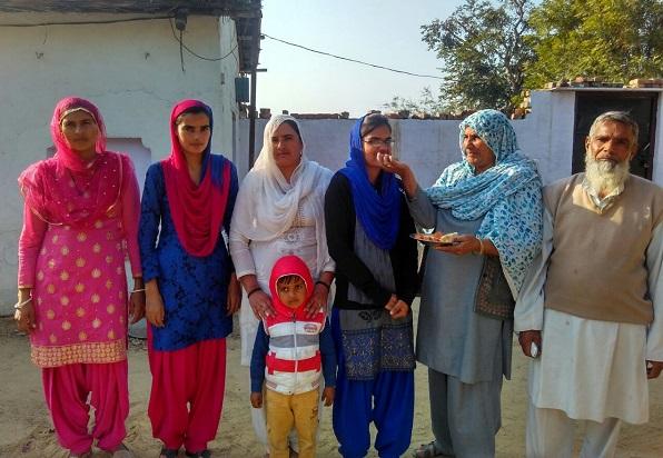 तब्बसुम निशा ने पास की सीएसीपीटी की परिक्षा, खुशी से झूमा पूरा परिवार