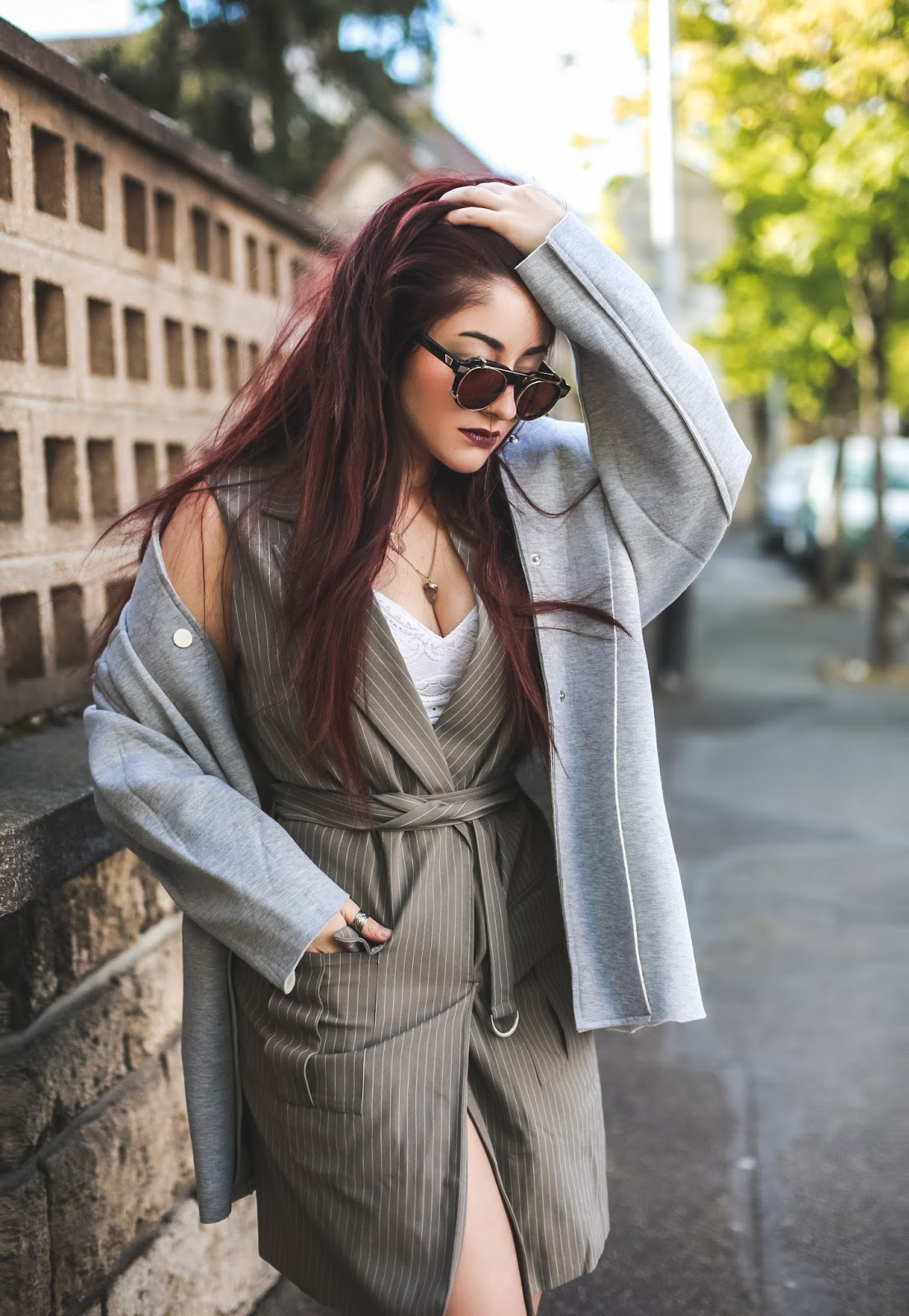 robe veste blog mode