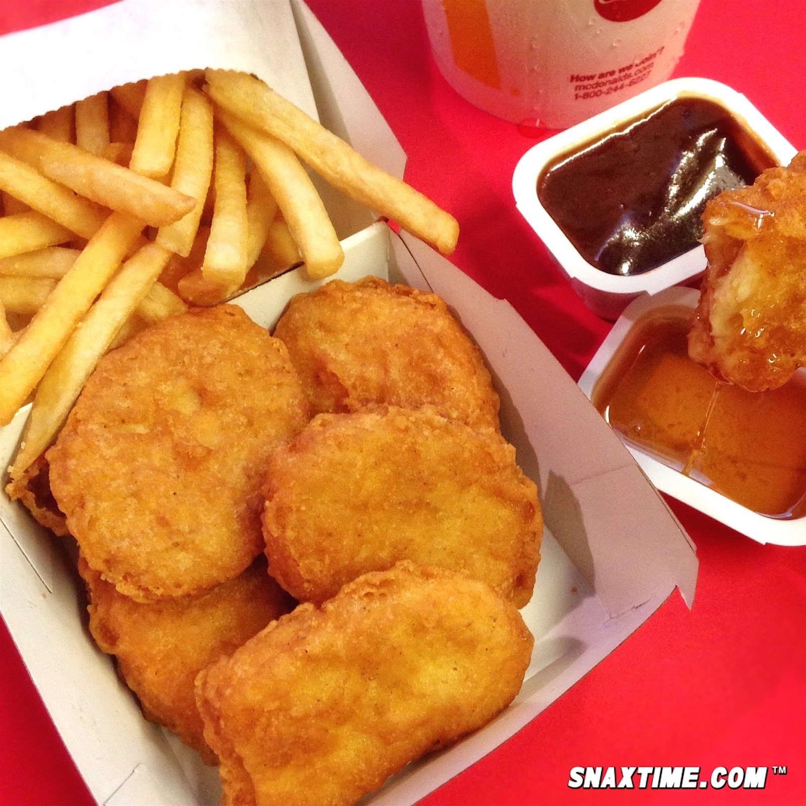 NEW McDonald's Chicken McNuggets: MEATY MAKEOVER!