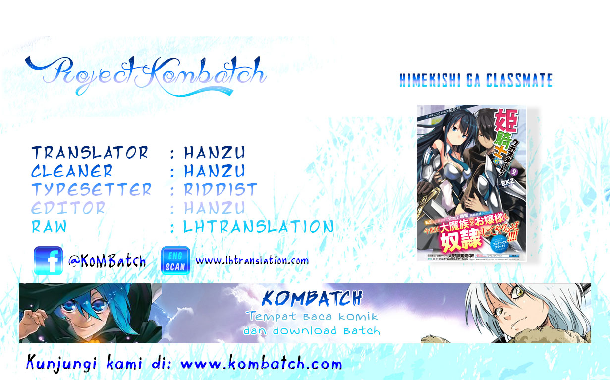 Himeshiki Ga Classmate Chapter 7 Bahasa Indonesia