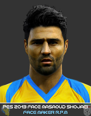 Pes 2013 Face Masaoud Shojaei By R.P.M