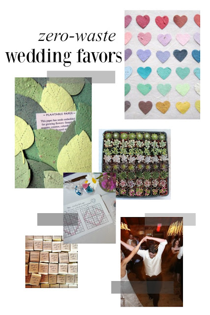 zero-waste wedding favor ideas