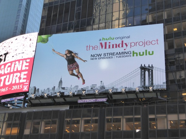 Mindy Project season 4 billboard NYC