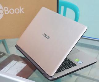 Laptop Asus A407UB Fullset Bekas