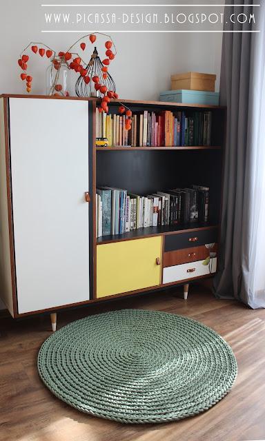 Sznurkowy dywan – gruby i mięsisty! +size!