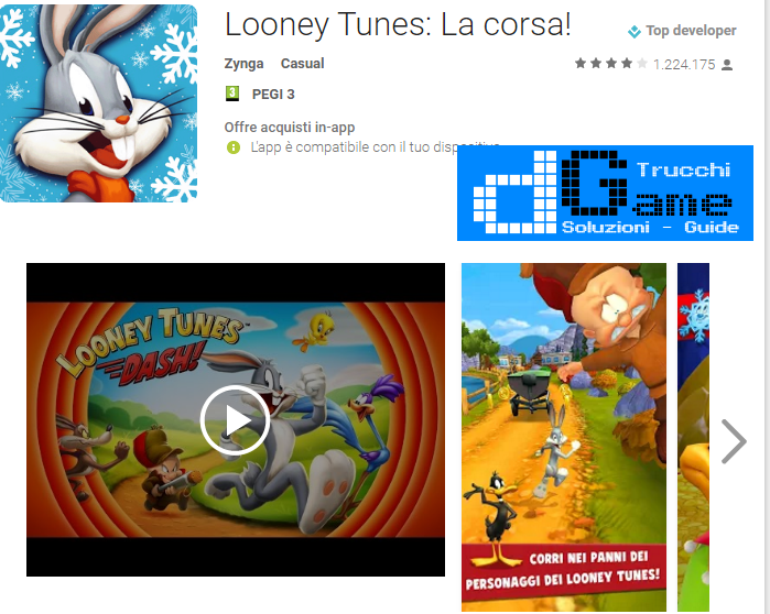 Soluzioni Looney Tunes Dash livello 106-107-108-109-110-111-112-113-114-115-116-117-118-119-120 | Trucchi e Walkthrough level