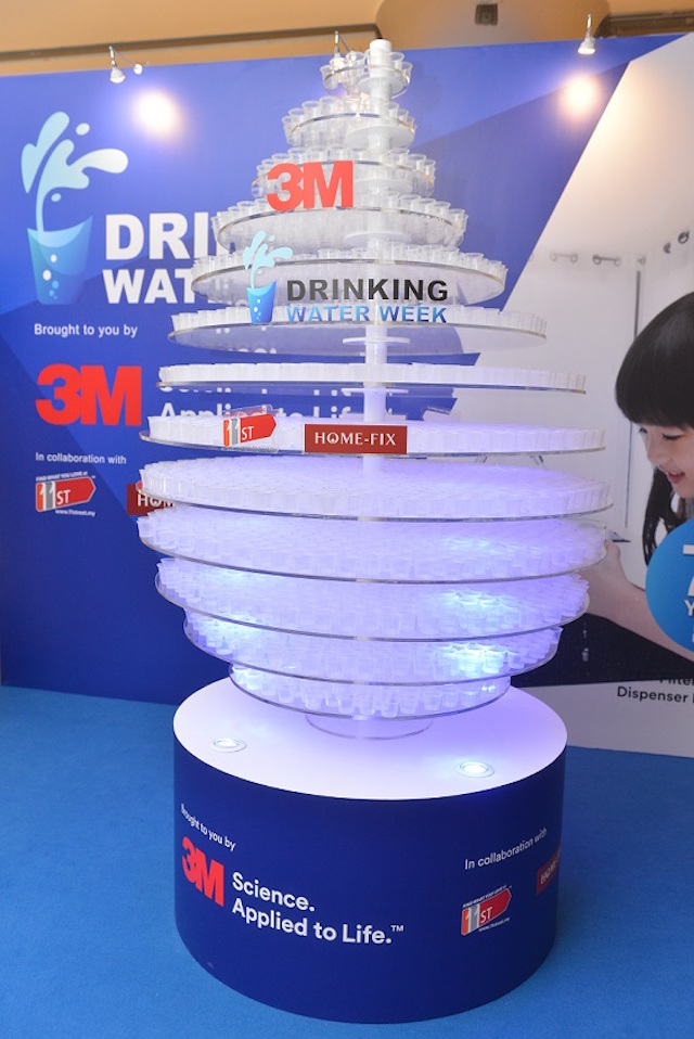 3M Malaysia & 11street Kicks Off Malaysia's Drinking Water Week