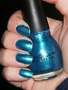xoxoJen's swatch of APAW 2/52 Sinful Colors Aqua