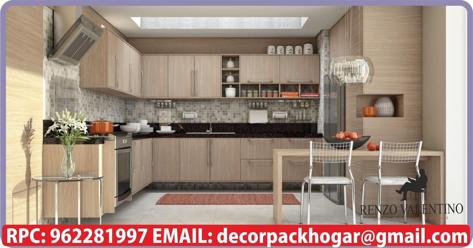 Dise os fabricacion de closet cocina y muebles de oficina for Modelos de cocinas modernas 2016