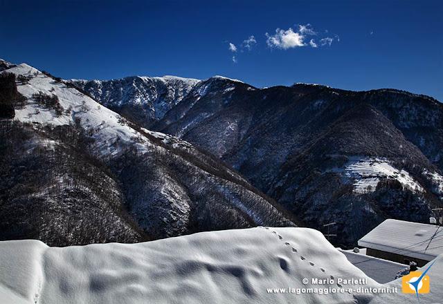 Biegno e l'altro versante della valle Veddasca