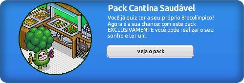 Pack Cantina Saudavél Habbo Hotel