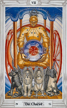 Tarot of Thoth: The Chariot VII