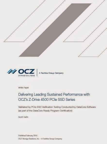 White Paper: Testergebnisse für OCZ Z Drive mit SANsymphony V