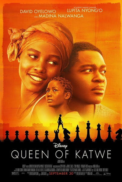 Poster Of Queen of Katwe 2016 Hindi 720p BRRip Dual Audio Full Movie Download