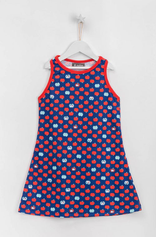 Moda para niñas verano 2018 vestidos.