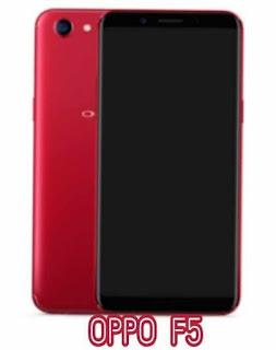 Harga dan Spesifikasi Oppo F5 Terbaru Tahun 2017