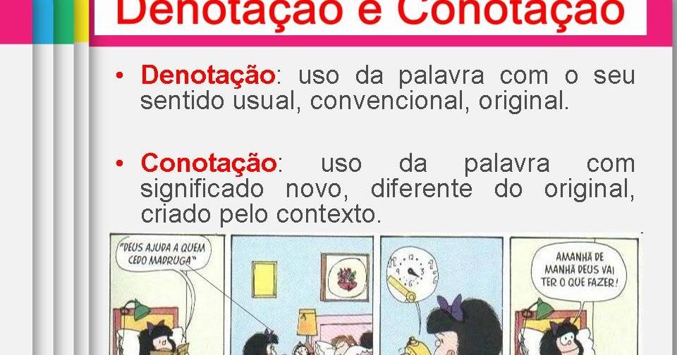 Tipos De Linguagem Denotativo Sentido Real Dicionário: Língua Portuguesa Com A Drika 8º. Ano: SENTIDO DENOTATIVO