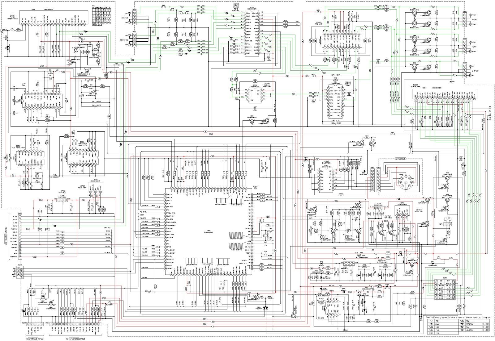 lg tv wiring diagram
