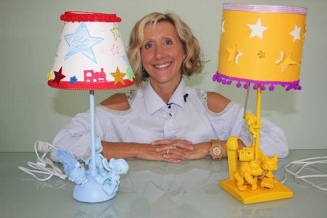 Tamara Melvin shows us how to jazz up a child's night light