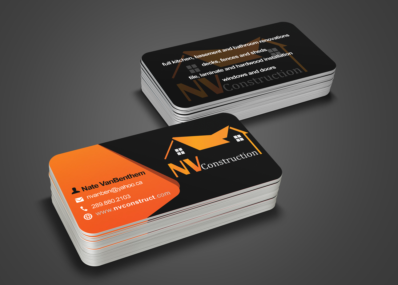 Business Card Logo Business Card Tips - Construction business card templates download free