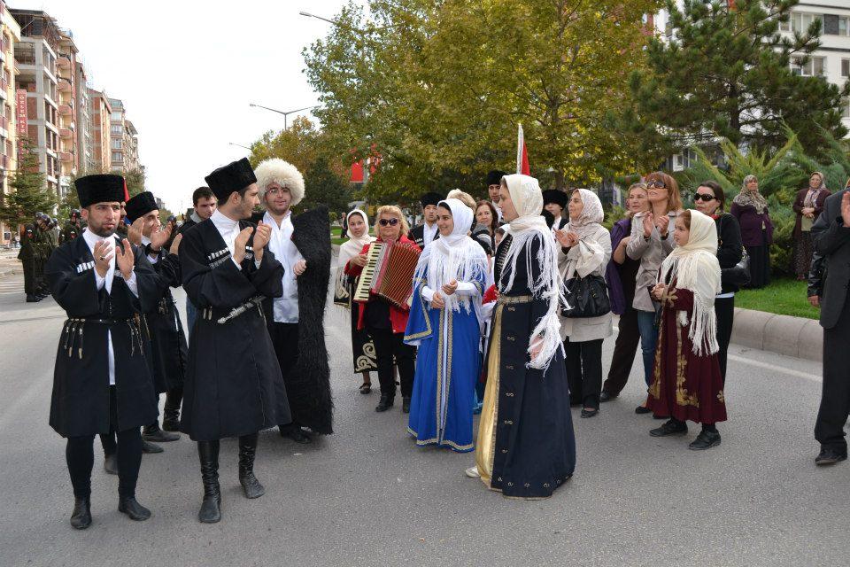 карачаевцы в Турции, карачаево-балкарская диаспора, кавказская диаспора