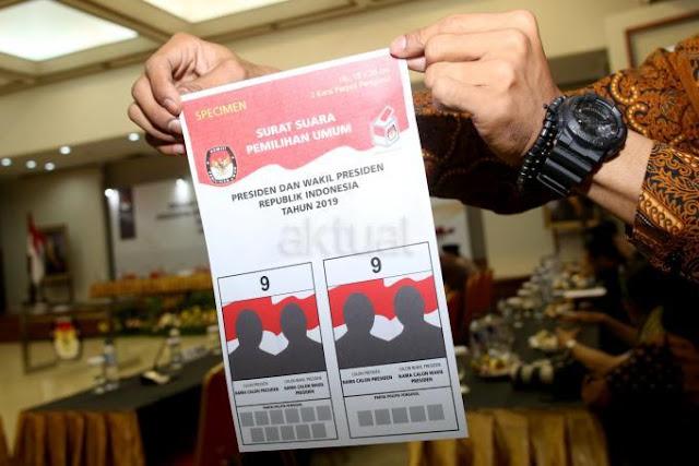 KPU Produksi Surat Suara Pemilu 2019 Melalui Enam Perusahaan